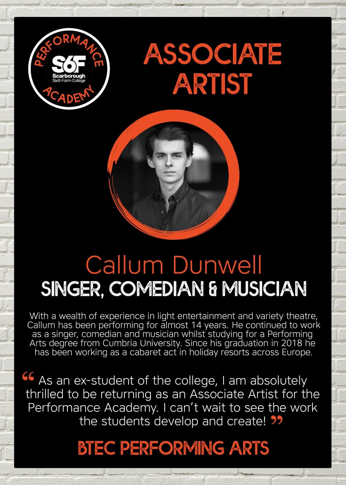 PA Associate Artist_Callum Dunwell