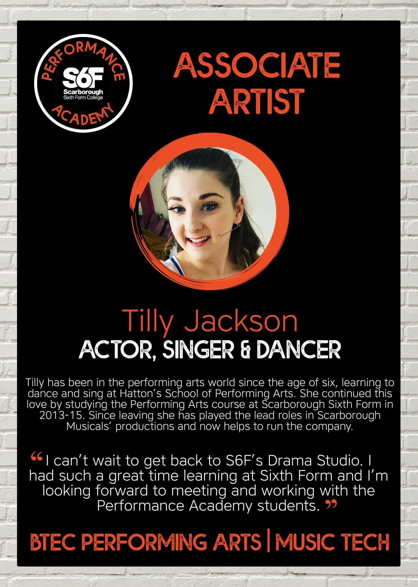 PA Associate Artist_Tilly Jackson