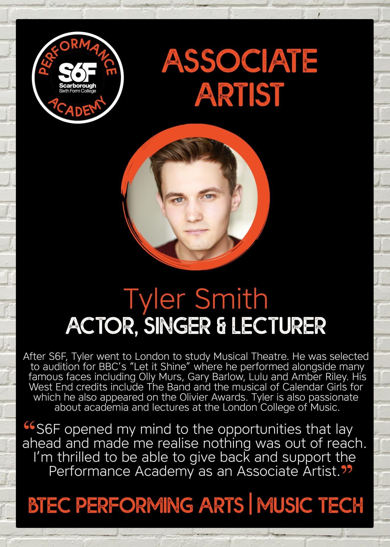 PA Associate Artist_Tyler Smith